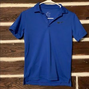 Youth Nike dry fit polo